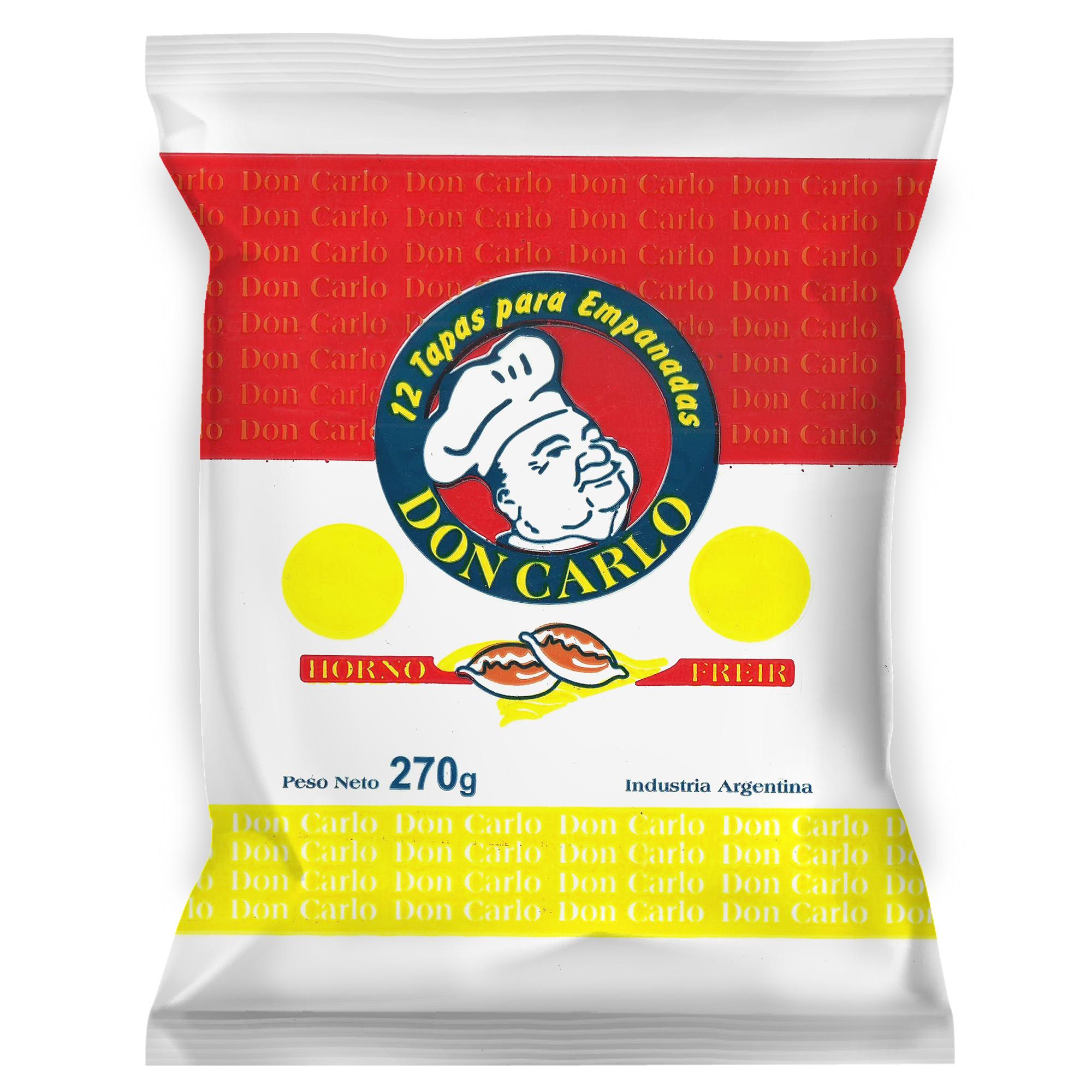 Don Carlo – Tapas de empanada