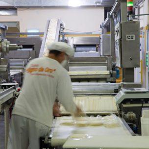 Proceso de producción. Signo de Oro. Tapas para empanadas y pascualinas